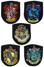 5 Harry Potter Kostüm Patch - Aufnäher Gryffindor Slytherin Hufflepuff Ravenc