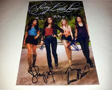 """PRETTY LITTLE LIARS CASTX4 PP SIGNED 12""""X8""""INCH POSTER LUCY HALE N2"""