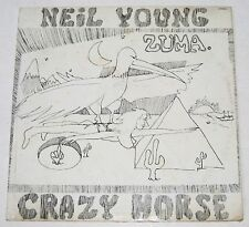 Philippines NEIL YOUNG w/ CRAZY HORSE Zuma LP Record