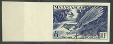 MADAGASCAR OISEAUX URATELORNIS BIRDS VÖGEL FAUNE ESSAI COLOR PROOF ESSAY ** 1954