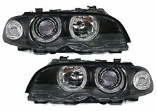2 FEUX PHARE AVANT ANGEL EYES BMW SERIE 3 E46 COUPE PHASE 1 DE 1999 A 03/2003