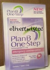 NIB Plan B One Step Emergency Contraceptive Pill Exp.NOV 2017 SAME DAY SHIPPING!