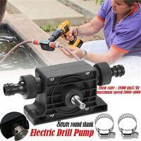 Portable Oil Fluid Water Pump Portable Electric Drill Pump Self Priming Transfer
