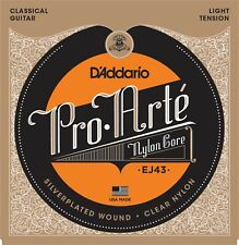 D'Addario EJ43 Pro-Arté Nylon, Light Tension Classical Guitar Strings