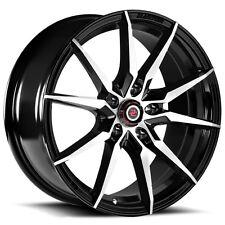 Drag Concepts R30 17x7.5 5x114.3 +40mm Black/Machined Wheel Rim