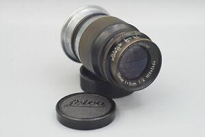 Leica Elmar 9cm f4 Black Paint Portrait LTM Lens