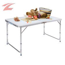 Aluminium Campingtisch 120x70x60cm Klapptisch Koffertisch Falttisch Gartentisch