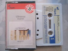 Ultravox - Quartet - Chrysalis MC Cassette Musikkassette made in West Germany