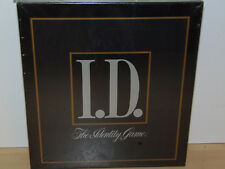 I. D. The Identity Game-Adult Party Game-Milton Bradley 1988-Factory Sealed