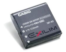 ORIGINAL CASIO Li-ion NP-40 Battery for Exilim Digital Cameras np40