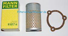 Ölfilter Hydraulik MANN  H617N für Deutz Traktor Schlepper DX, D4006-6206 usw.