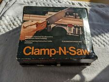 Vintage Durall Eagle Clamp-N-Saw Corner Miter Box No.618 Yonkers, NY - with Box
