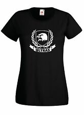 T-shirt Maglietta Donna J1802 Ultras Calcio Spezia La Spezia Curva Ferrovia