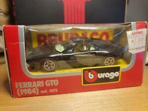 1984 BBURAGO 1/43 Ferrari GTO No. 4175  Black