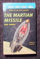 1960 THE MARTIAN MISSILE / ATLANTIC ABOMINATION - Ace Double D-465 Paperback VF-