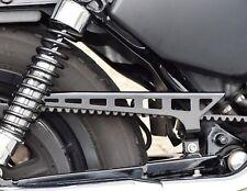 Belt Schutz slotted Kettenschutz Riemenabdeckung Harley Sportster XL black gloss