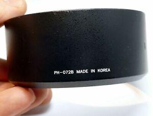 PH-072B Rokinon Plastic Lens hood shade for 85mm f1.4 f1.5 Samyang OEM