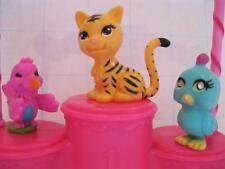 Polly Pocket Sparklin Sparkling Pet Show Salon Shop Littlest JUNGLE Birds Tiger