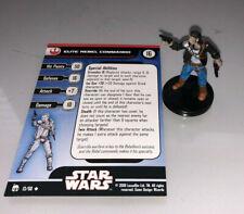 Miniaturas de Star Wars legado de la fuerza rebelde Commando Elite #13