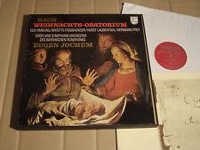 BACH - WEIHNACHTS-ORATORIUM - WEIHNACHTSORATORIUM - JOCHUM - 3-LP-Box