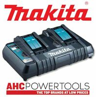 Makita DC18RD 240v 14.4-18V LXT Twin Port Rapid Battery Charger with USB