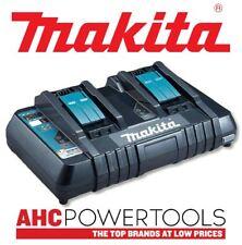 MAKITA dc18rd 240V 14.4-18v LXT Twin Port rapido CARICABATTERIA CON USB