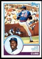 1983 Topps Set Break 2 Lee Smith Chicago Cubs #699