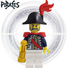 LEGO Pirates Minifigure - Imperial Soldier Governor c/w Gold Telescope ( 6242 )