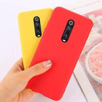 For Xiaomi Mi 9T Pro Redmi K20 Pro Colorful Matte Silicone Rubber TPU Case Cover
