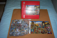 """HEYE 1000 PIECE JIGSAW: """"MIDDLE AGES"""" BY THEURER"""