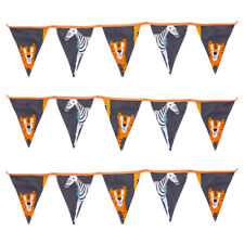 Africa Fabric Bunting Children's Room Décor Flags Decoration Boys Girls Nursery