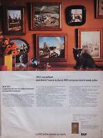 PUBLICITÉ DE PRESSE 1972 - BANQUE BNP - CHAT - ADVERTISING