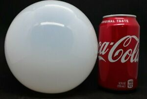 Hand Blown Pontil Punty Mark Opalescent Glass Ball Fish Net Float 5.5 d 19 c
