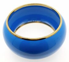 By Chuns, Size 10.25inches Blue & Gold Fashion Bangle
