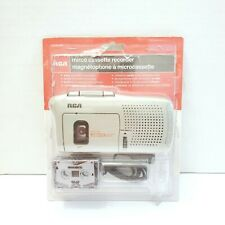 Brand New RCA RP3538 Micro Cassette Recorder w/ Voice Activated Recording.