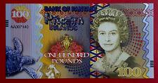 Billet île Pitcairn Islands Hundred Pounds 100 £ Reine Élisabeth II Polymère