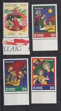 UMM MNH STAMP SET 1990 IRELAND EIRE CHRISTMAS SG 789-792
