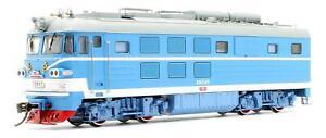MTC 'HO' GAUGE ZY13-08 BLUE & WHITE CLASS BJ '2012' DIESEL HYDRAULIC LOCOMOTIVE