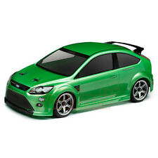 HPI Racing Ford Focus RS 200mm Clear Body Set 4WD 1:10 RC Cars Touring #105344