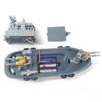 Electric Mini Marine Patrol Boat Child Educational Toy Ship Model