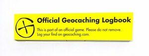 5 x Long Micro Geocaching Log Book (200 logs) for Geocaching