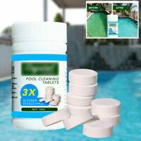 50 Stück multifunktionale weiße Chlortabletten für Whirlpool-Pool Spa Clean