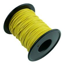 Yellow 0.5mm² 16/0.2mm Stranded Copper Cable Wire 50M
