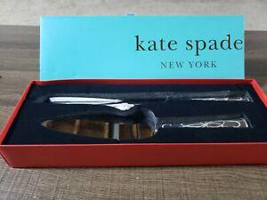 kate spade belle boulevard 2 piece dessert set (wedding)