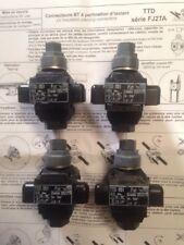 4 Connecteurs dérivation sous tension edf TTD051 FJ2T de 16-50 à 1,5-6 mm carrés