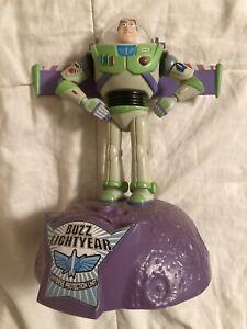 1995 Toy Story Talking Buzz Lightyear Piggy Bank Disney Pixar Thinkway
