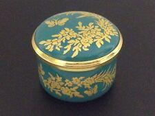 🔴 Halcyon Days ~ Winterthur Collection Trinket Ring Box ~ Golden Butterflies