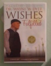 dr wayne dyer  WISHES FULFILLED  DVD NEW