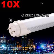 10X T8 4FT 18W Daylight Cool White LED Tube Light Bulb Fluorescen Lamp Replacemt