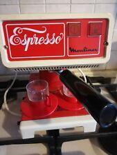 VECCHIA CAFFETTIERA MACCHINA DEL CAFFE' MOULINEX KOFFIEZETAPPARAAT con SCATOLA